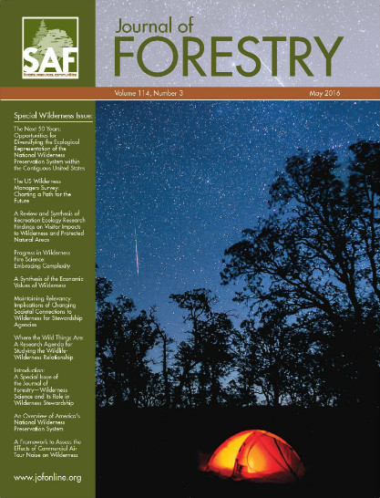 Journal of Forestry: Special Issue - May 2016
