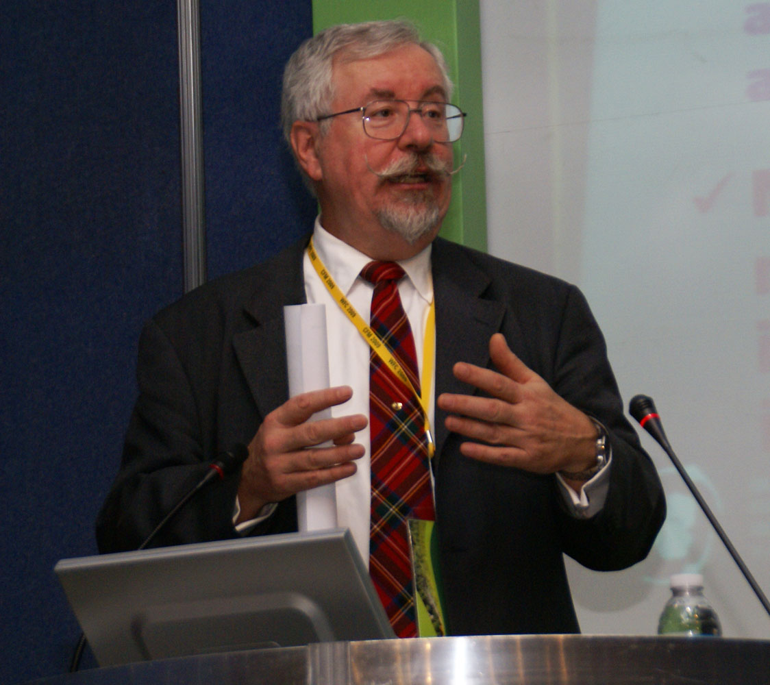 Rich Guldin at the World Forestry Congress in 2009