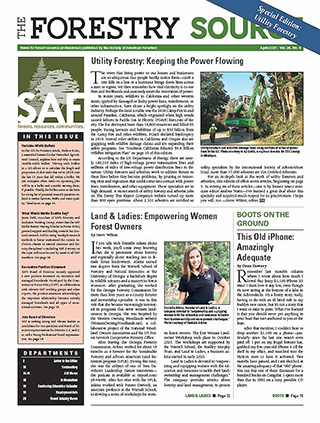 April 2021 Forestry Source