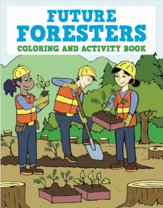 Future Foresters Coloring and Activity Book