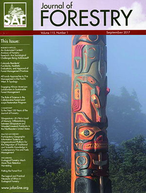 Journal of Forestry - Journal of Forestry: Special Issue - September 2017 - Journal of Forestry ...
